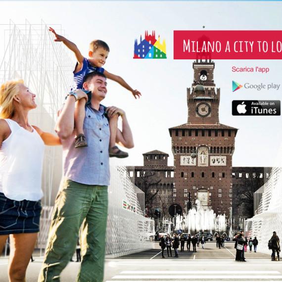 app turistica milano grafiche promozionali