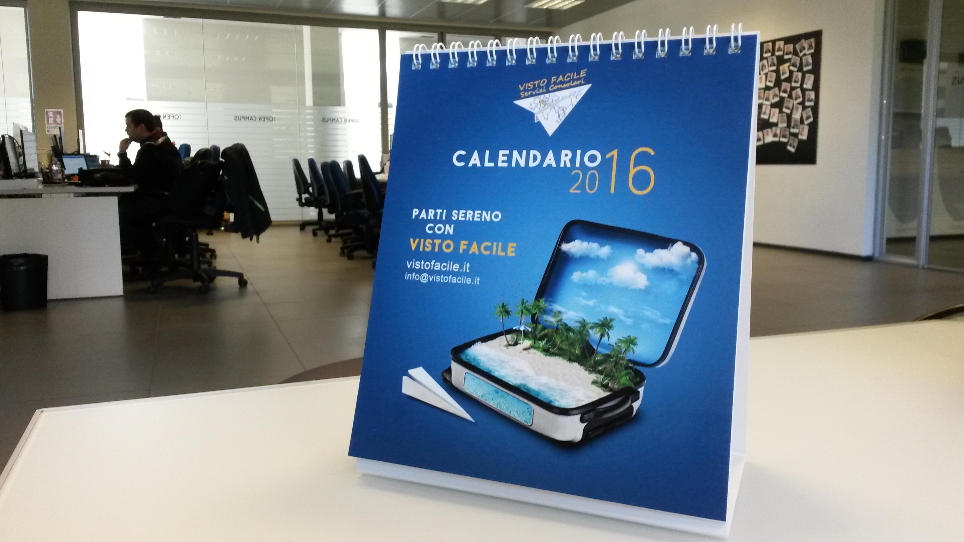 calendario aziendale visto facile merchandising viaggi servizi consolari