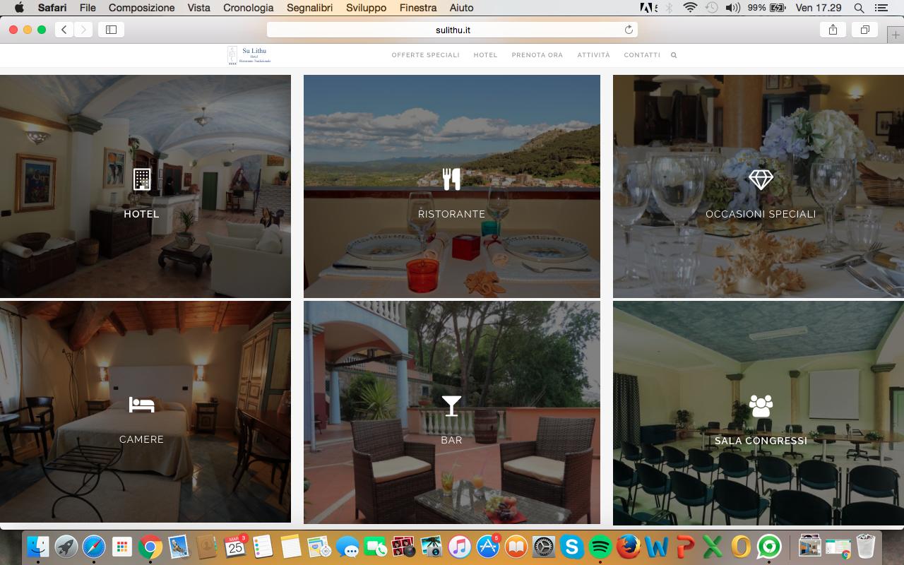 sito wordpress per hotel