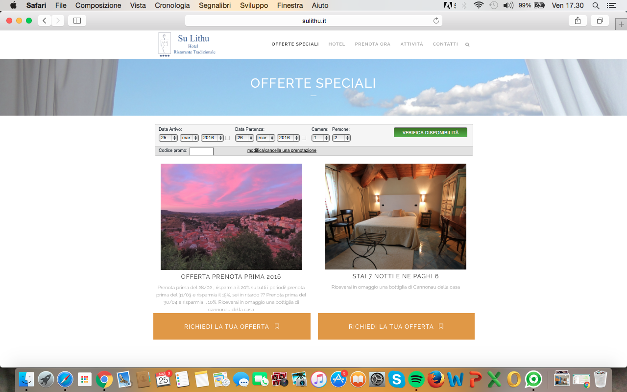 sito web hotel low cost sardegna