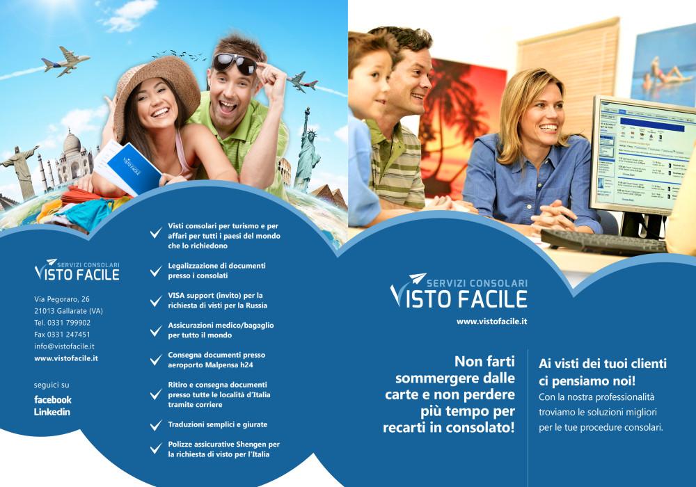 brochure grafica agenzie di viaggio