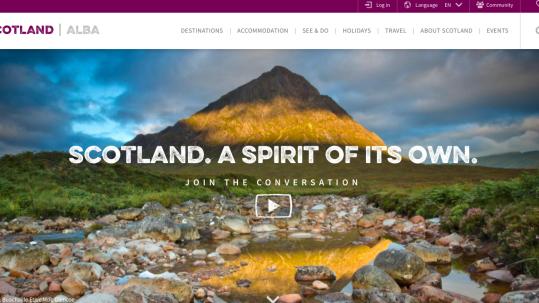 website visit scotland