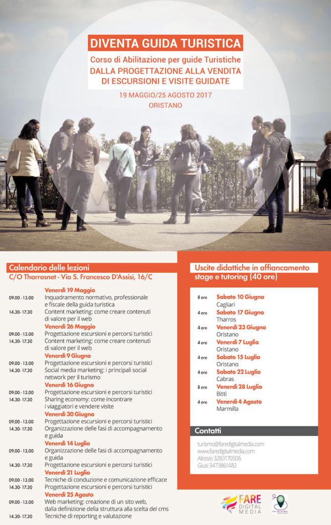 calendario corso guide turistiche