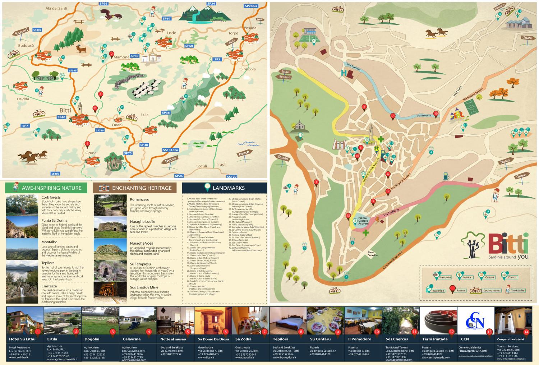 cartina turistica visit bitti