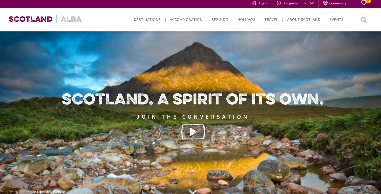 website visit scotland