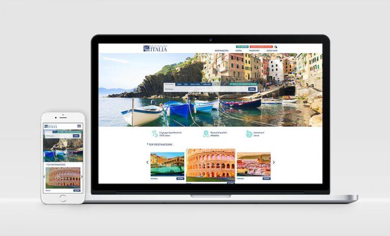 Destination Italia travel content marketing