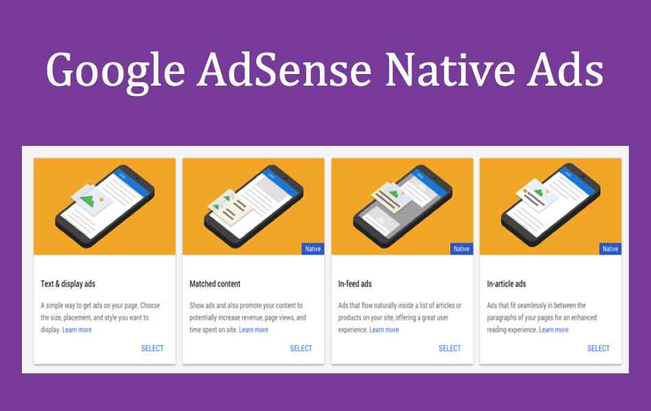 Google AdSense Native Feed Ads