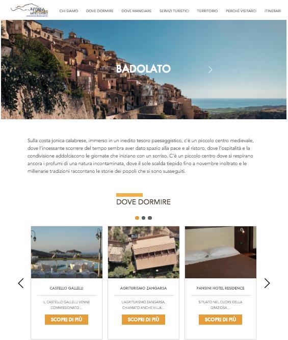 content destination marketing calabria ionica