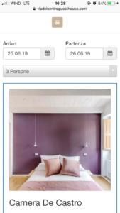 sito web hotel ricettività