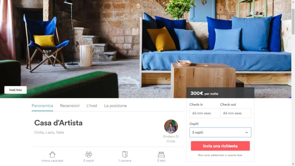 airbnb civita bagnoregio borgo
